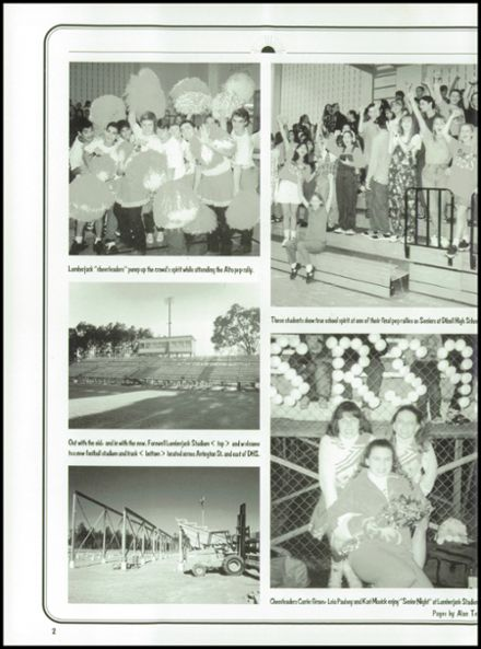 1996 Diboll High School Yearbook Page 6