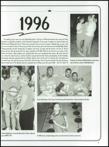 1996 Diboll High School Yearbook Page 7
