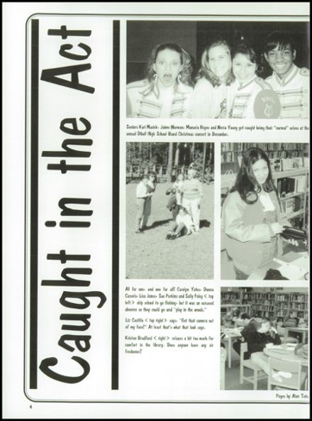 1996 Diboll High School Yearbook Page 8
