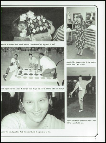 1996 Diboll High School Yearbook Page 9