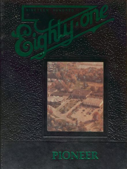 1981 Greenhills High School Yearbook Cover