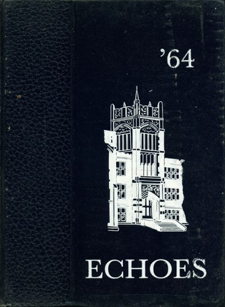 1964 East High School Yearbook Cover