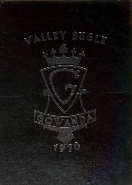 1978 Gowanda High School Yearbook Cover