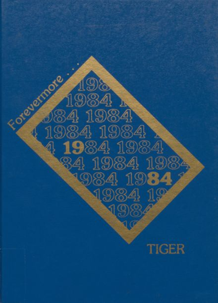 1984 Newkirk High School Yearbook Cover