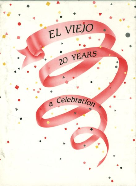 1987 Mission Viejo High School Yearbook Cover