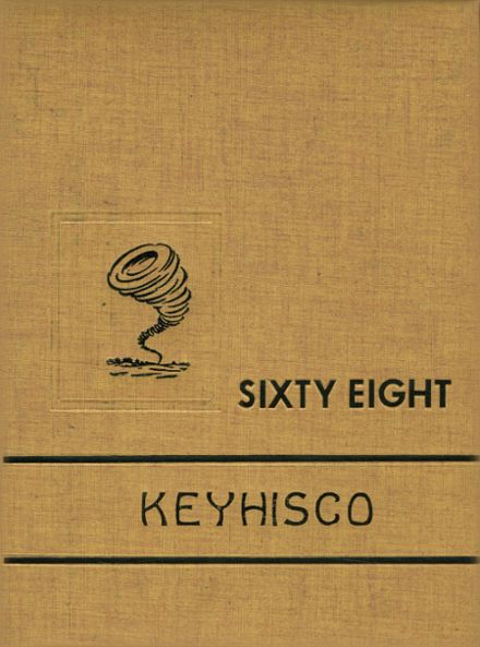 1968 Keyser High School Yearbook Cover