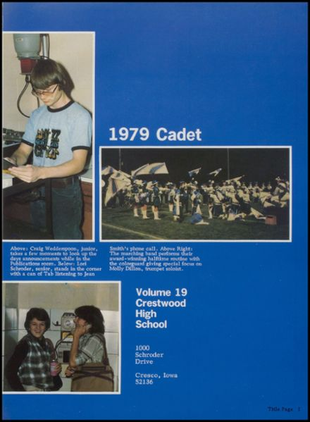 1979 Crestwood High School Yearbook Page 5