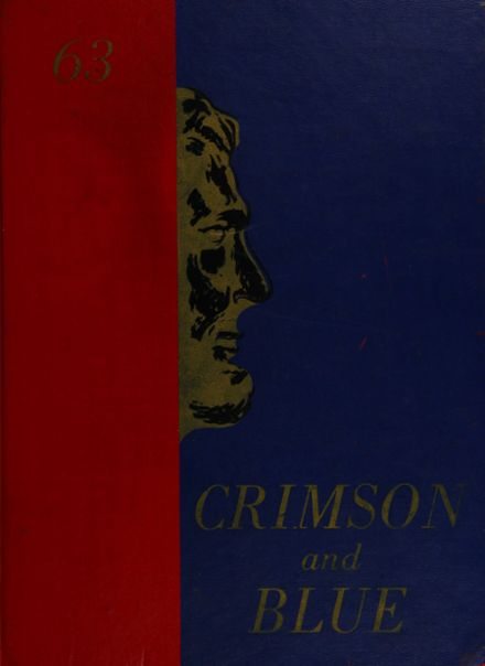 1963 Abraham Lincoln High School Yearbook Cover