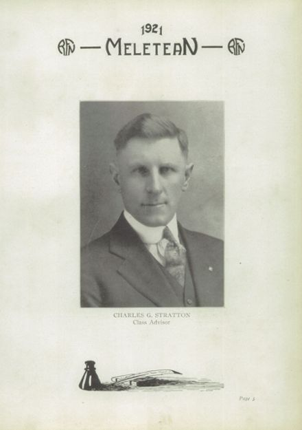 1921 River Falls High School Yearbook Page 5