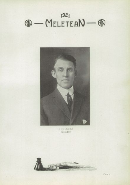 1921 River Falls High School Yearbook Page 7