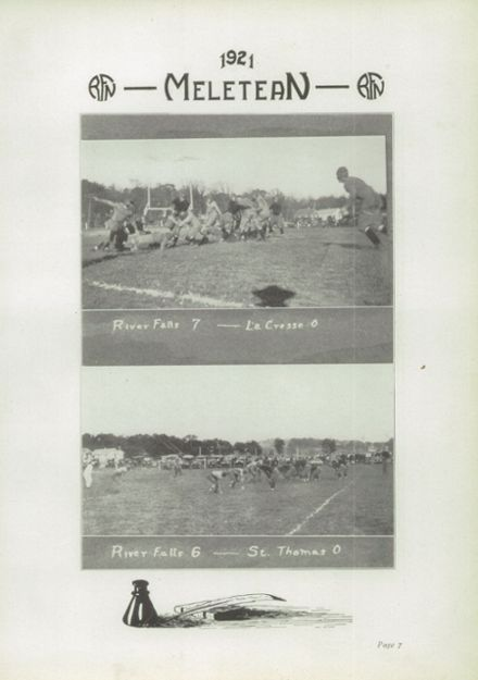 1921 River Falls High School Yearbook Page 9