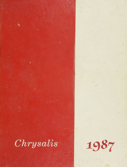 1987 Lawrence High School Yearbook Cover