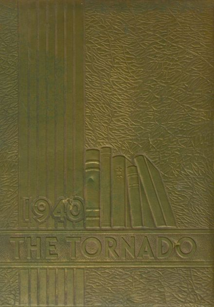 1940 Union City High School Yearbook Cover