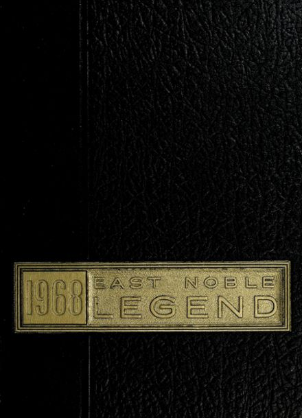 1968 East Noble High School Yearbook Cover