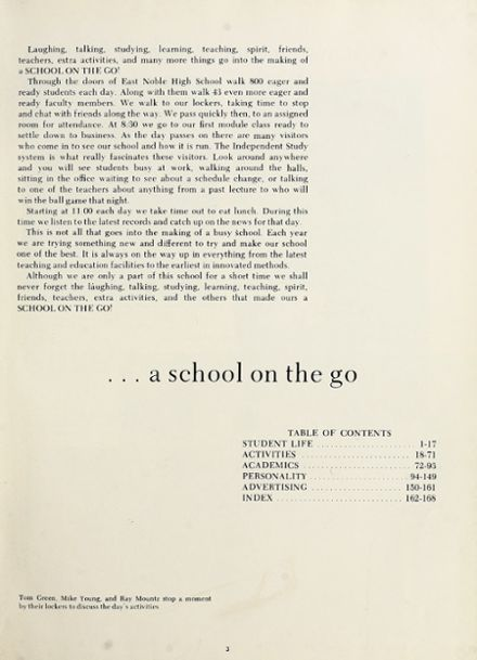 1968 East Noble High School Yearbook Page 7
