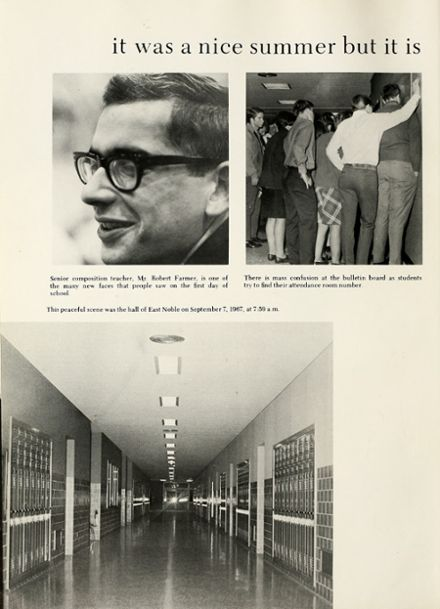 1968 East Noble High School Yearbook Page 8