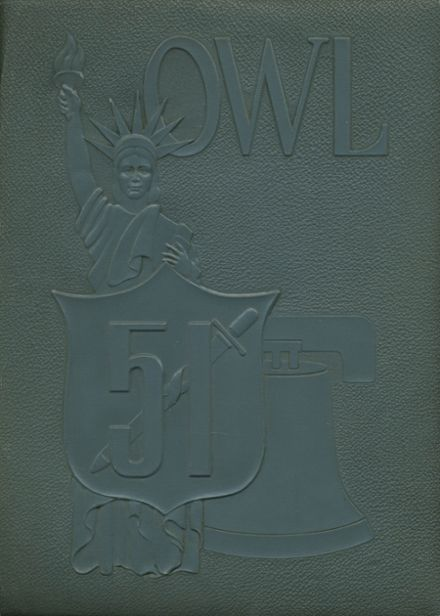 1951 Fresno High School Yearbook Cover