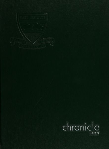 1977 Mary Institute Yearbook Cover