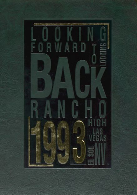 1993 Rancho High School Yearbook Cover