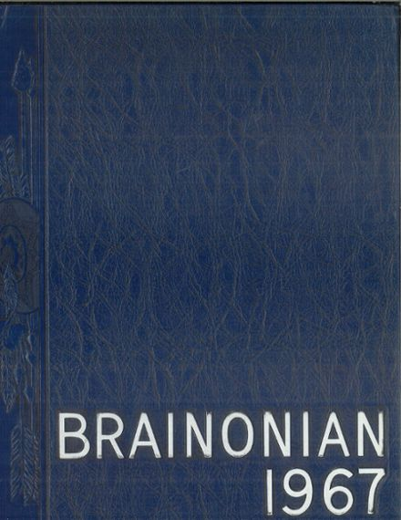 1967 Brainerd High School Yearbook Cover