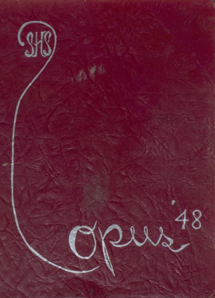 1948 Stanley-Boyd High School Yearbook Cover