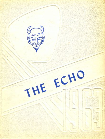 1963 Plains High School Yearbook Cover