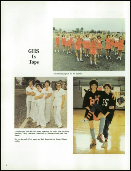 1983 Gillespie Community High School Yearbook Page 8