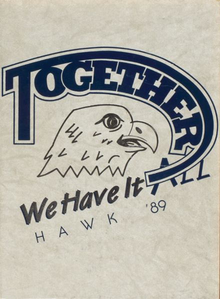 1989 Armwood High School Yearbook Cover
