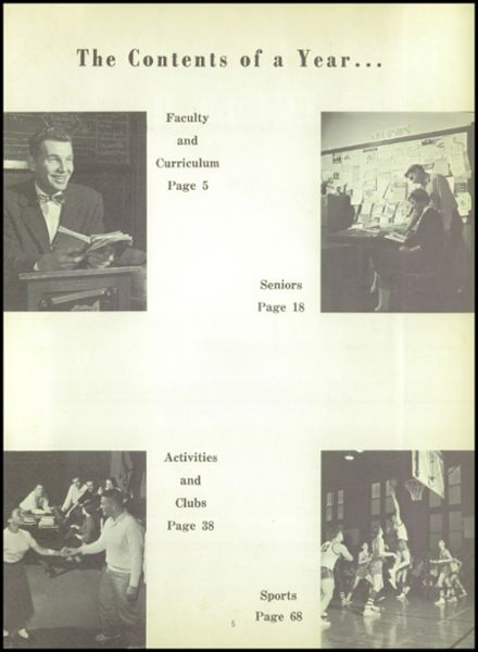 1956 Monroe High School Yearbook Page 9