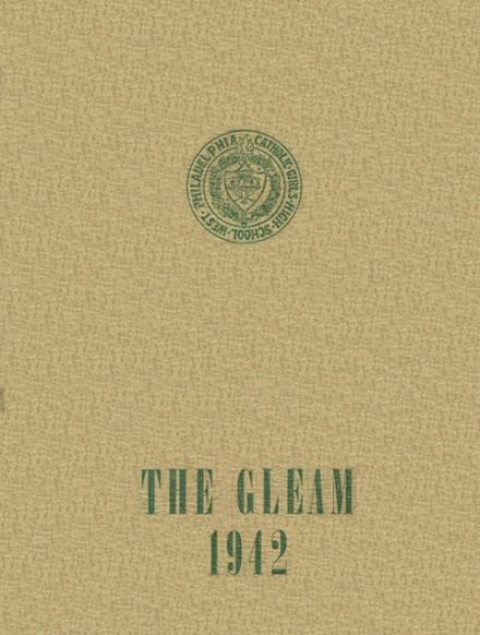 1942 West Catholic Girls High School Yearbook Cover