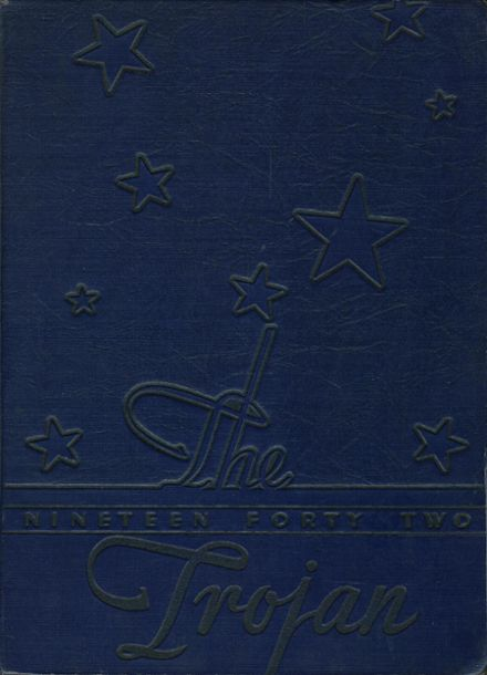 1942 East High School Yearbook Cover