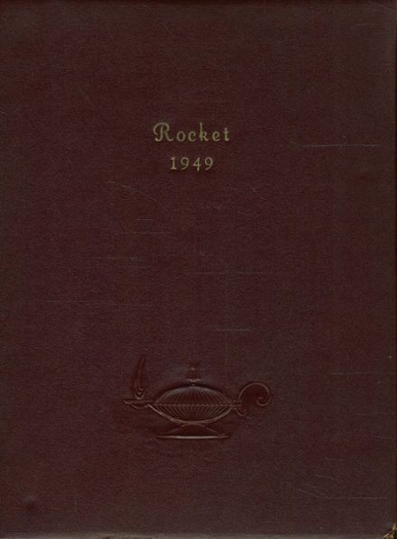 1949 Ashley Sugar-Notch High School Yearbook Cover
