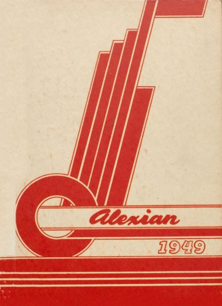 1949 Central High School Yearbook Cover