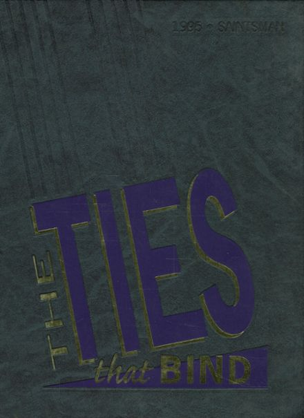 1995 St. Augustine High School Yearbook Cover