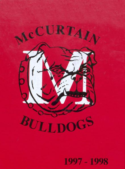 1998 McCurtain High School Yearbook Cover