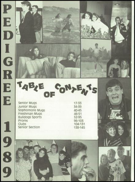 1989 West Albany High School Yearbook Page 6