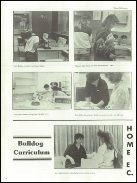 1989 West Albany High School Yearbook Page 8