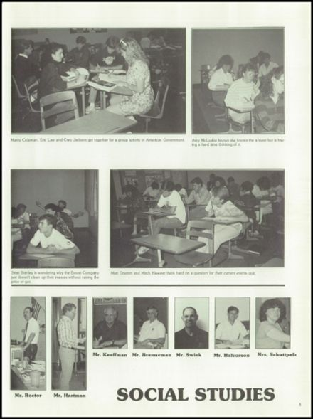 1989 West Albany High School Yearbook Page 9