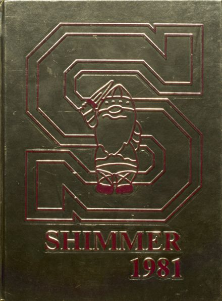 1981 Schaumburg High School Yearbook Cover