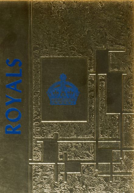 1969 Wing High School Yearbook Cover
