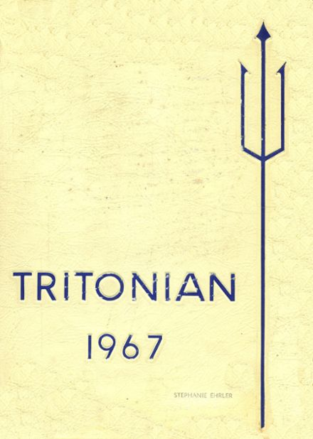 1967 Triton Regional High School Yearbook Cover