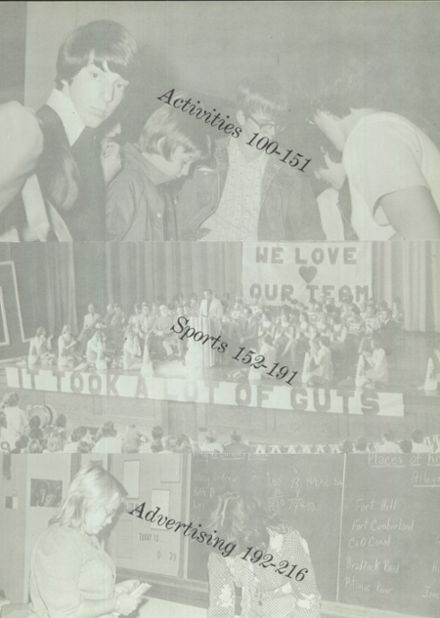 1976 Ft. Hill High School Yearbook Page 7