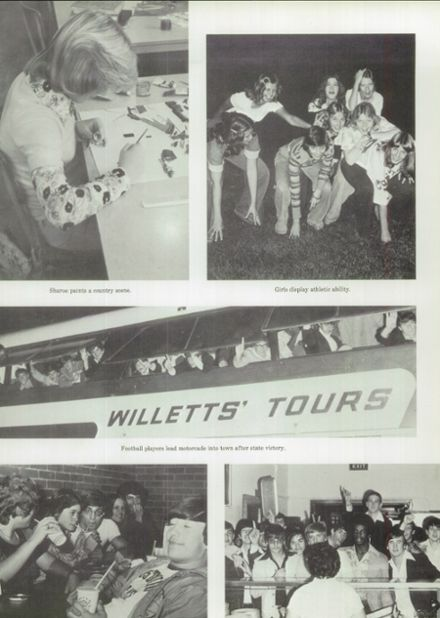 1976 Ft. Hill High School Yearbook Page 9