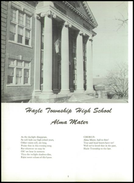1960 Hazle Township High School Yearbook Page 6