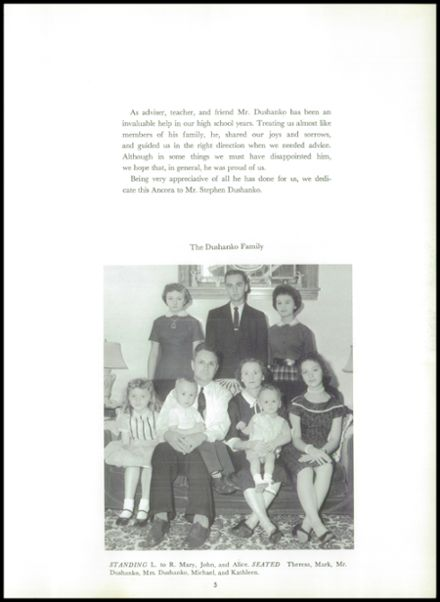 1960 Hazle Township High School Yearbook Page 9