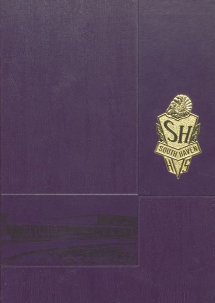 1971 South Haven L.C. Mohr High School Yearbook Cover