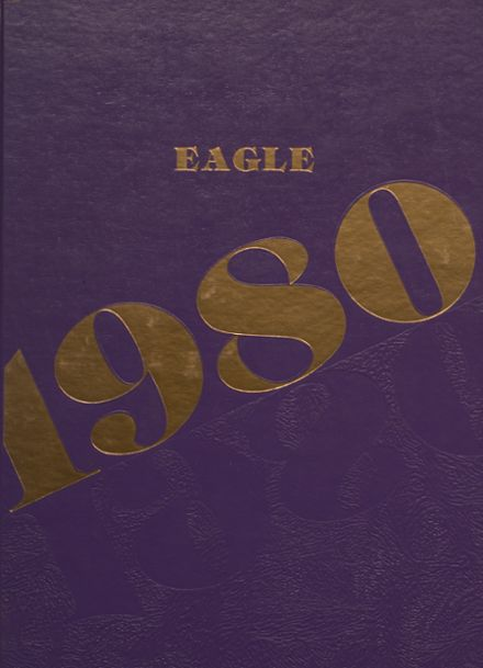 1980 Campbellsville High School Yearbook Cover