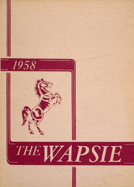 1958 Independence Christian High School Yearbook Cover