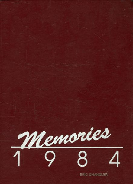1984 Cooperative High School Yearbook Cover