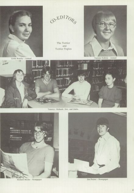 1976 Thomas High School Yearbook Page 7